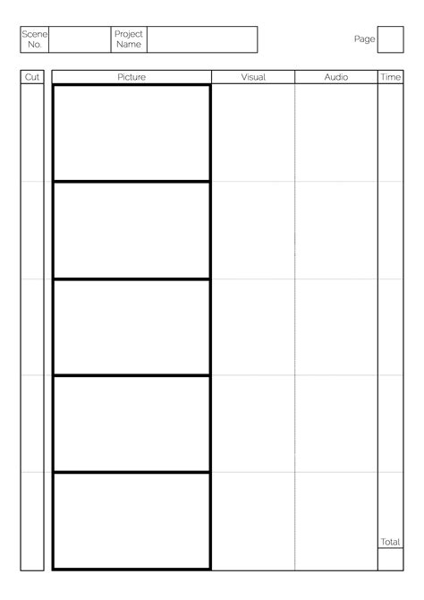 Free Storyboard Templates by Storyboard Template By Greyfaerie4 On Deviantart