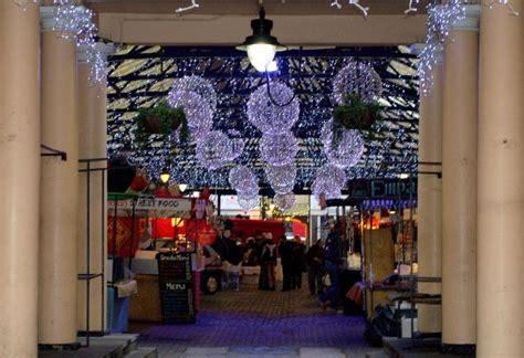 christmas at greenwich market broke in london