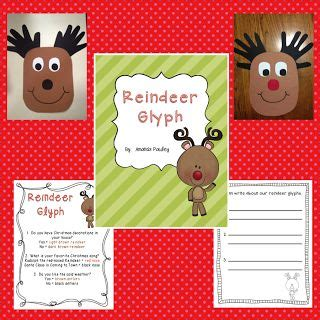 printable reindeer glyph pinterest the world s catalog of ideas