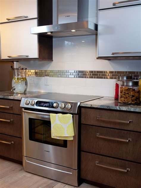 kitchen backsplash hgtv feel the home backsplashes for small kitchens pictures ideas from