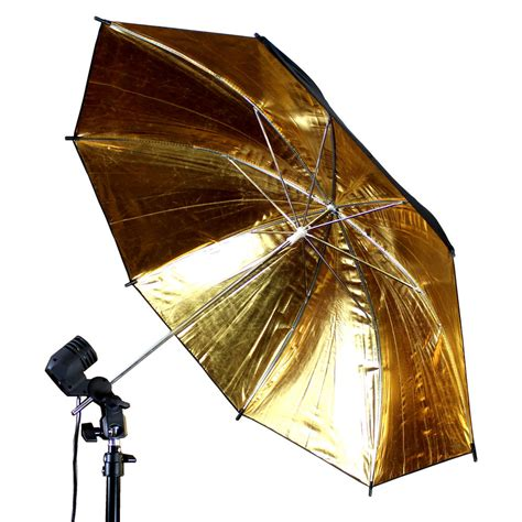 Umbrella L Photography by 43 Quot Photo Umbrella Gold Black Studio Flash Light