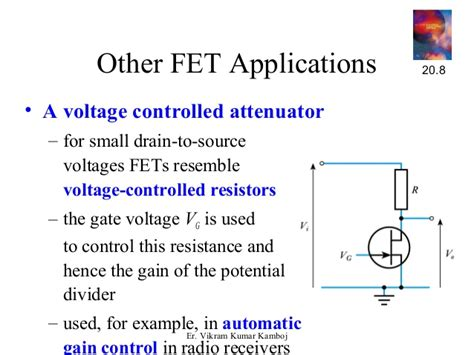 what is a voltage controlled resistor 14827 mosfet