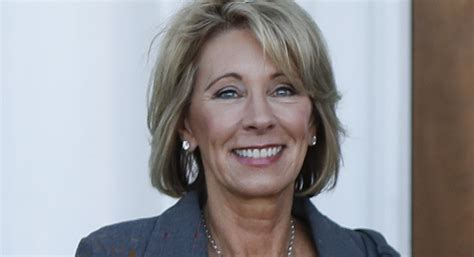 betsy devos latest trump s education secretary pick supported anti gay causes