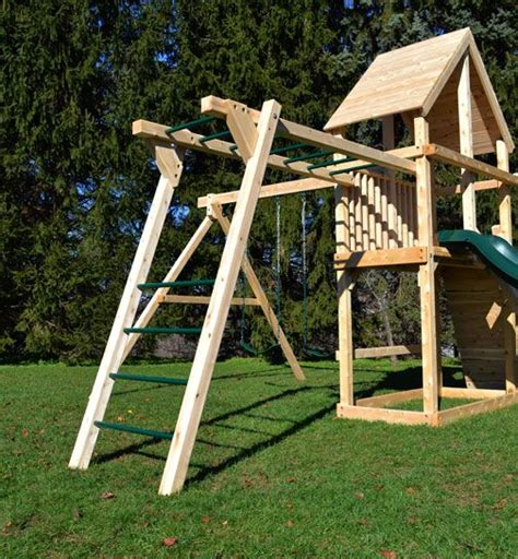 wooden swing sets with monkey bars 17 best ideas about wooden swings on pinterest wood