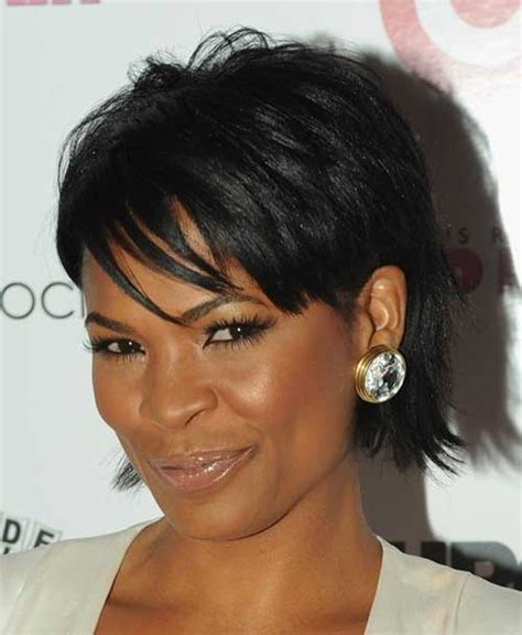 shortcuts for black women with thin hair cute short haircuts for black women the best short