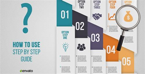 A Step By Step Guide How To Use Step By Step Guide By Vs Sky Videohive