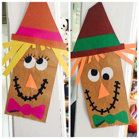 november kid crafts 25 best ideas about scarecrow crafts on fall
