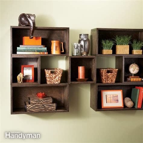 diy box shelves  family handyman