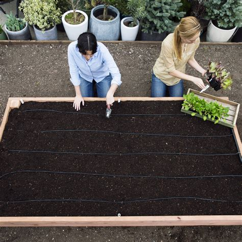 how to make a backyard garden how to build a raised garden bed sunset