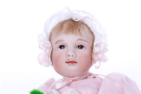barrie porcelain limited edition miniature doll  maree