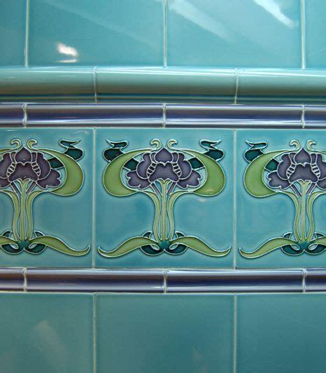 art nouveau bathroom tiles 268 best images about modern tile on pinterest