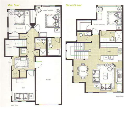 up house floor plan up and down house floor plan house design plans