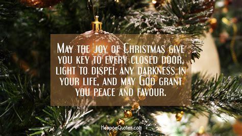 joy  christmas give  key   closed door light  dispel  darkness