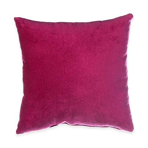 magenta bedding glenna jean blossom velvet throw pillow in magenta bed bath beyond