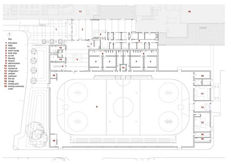 roller skating rink floor plans killarney ice rink lobby in vancouver british columbia by