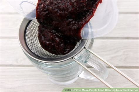 how to make purple with food coloring how to make purple food coloring from blackberries 4 steps