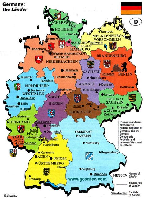 states germany map germany map states and capitals world map weltkarte