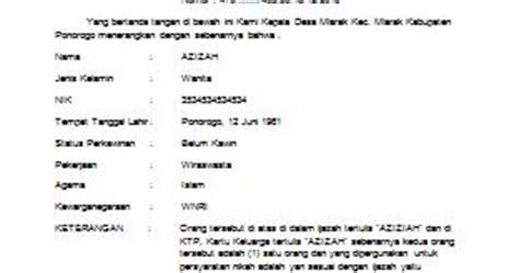 format surat kuasa wali nikah contoh surat kuasa wali nikah virallah
