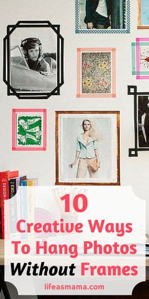 ways to hang posters 10 creative ways to hang photos without frames hang