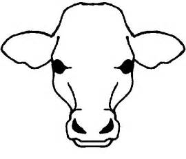 Cow Drawing Outline by Cow Outline Cliparts Co