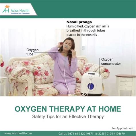 oxygen therapy at home safety tips for an effective