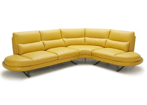 Corner Sofa In Leather Setti Corner Sofa In Leather Not Just Brown