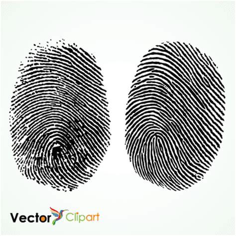 Imagenes Vectoriales Y Digitales | huellas digitales vector vector clipart