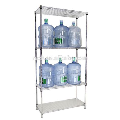 5 Gal Water Bottle Rack by Commercial Metal Material 5 Gallon Water Bottle Storage