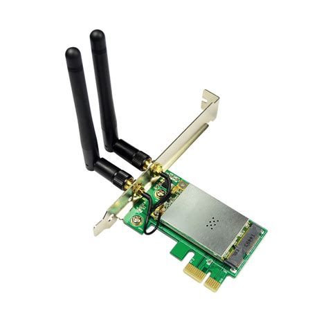 Pci Lan Card Wifi Iocrest Io Mpcewf 01 300mbps Mini Pci E Wireless Wifi