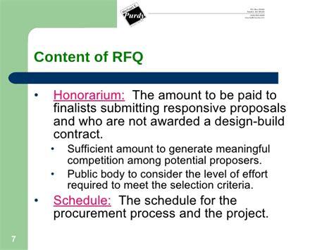 design contest public procurement design build requirements in washington state by michael e