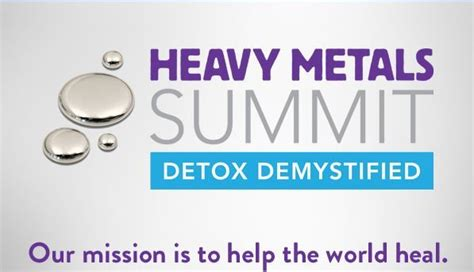 Heavy Metal Detox Song by Heavy Metals Summit Detox Demystified Health
