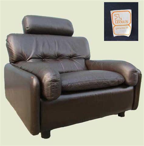 leren fauteuil leolux vintage leolux leren lounge fauteuil