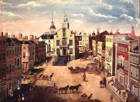 old state house boston digital history