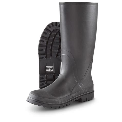 s northside lincoln rubber boots black 609734