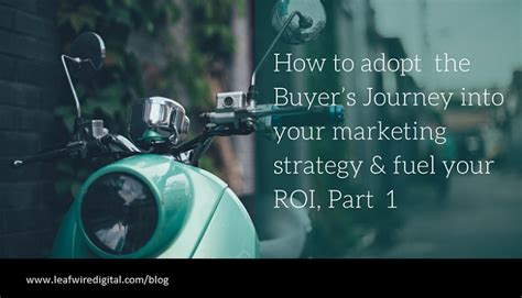Roi Of Part Time Mba by Tap Into Your Buyer S Journey For More Marketing Roi Part
