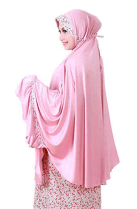 Mukena Anak Chum Merah 2 model busana muslim anak murah terkini