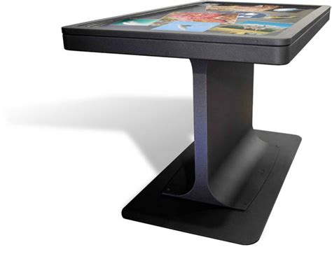 multi touch table ideum s mt 55 platform multitouch table goes ultrathin