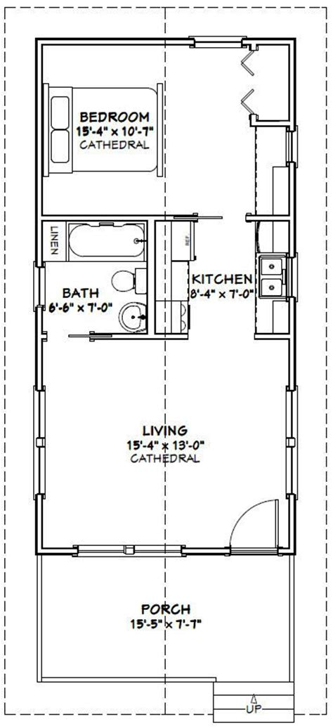 16x32 House Floor Plans Joy Studio Design Gallery Best 16 X 32 House Plans