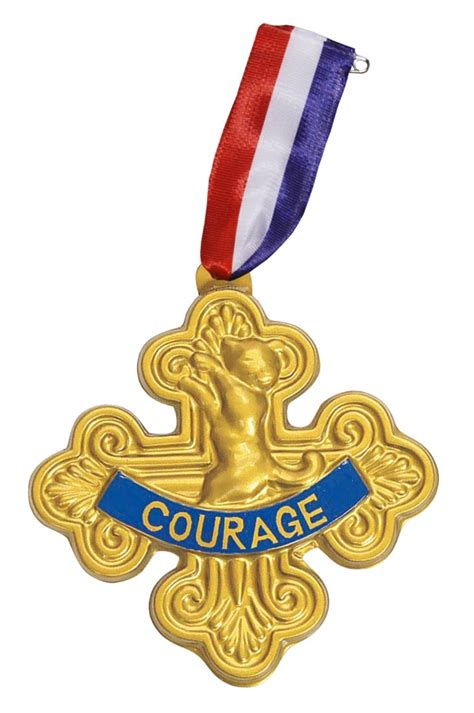 where courage calls return to the canadian west volume 1 cowardly badge of courage costume craze