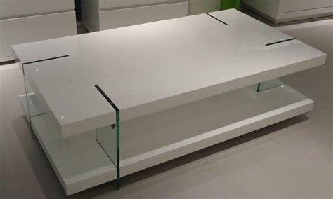 Innovative Coffee Table Modern White Coffee Tables Nella Vetrina Tonelli Qubik Modern White Italian Glass Coffee Table