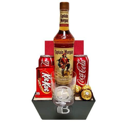 rum n coke rum gift basket the brobasket amazing