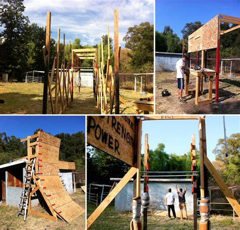 backyard ninja warrior course six ways to get the obstacle course experience core77