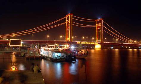 palembang city  million charm visit indonesia