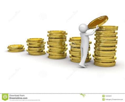 House Building Calculator man collecting money stock photos image 12225923