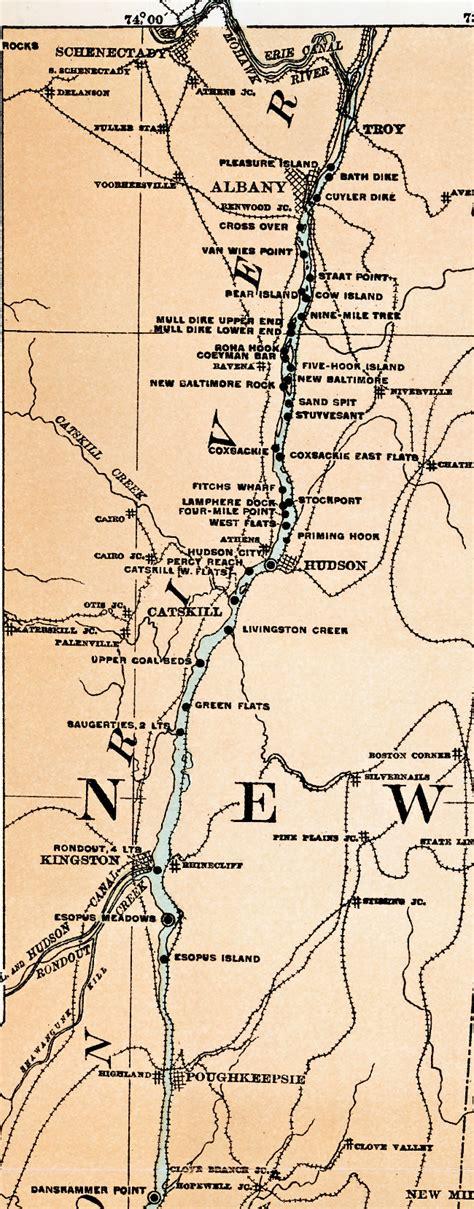 map of usa hudson river maps us map hudson river