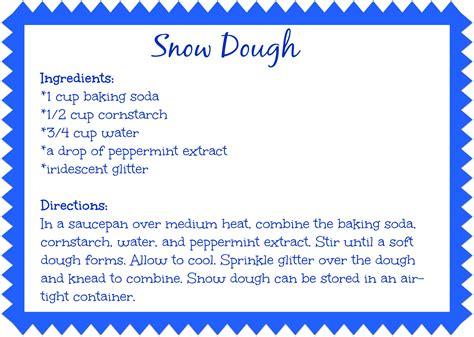 Caribbean Home Decor Snow Dough Recipe Our Potluck Family