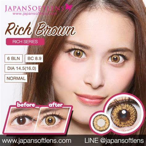 Softlens Gel Ageha Soft Lens Gel Ageha Dia 15mm Water 55 Korea Terl softlens brown ageha rich brown japan softlens
