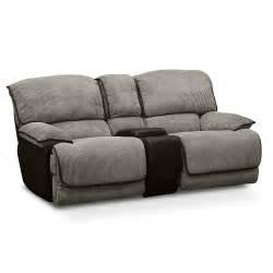 Serta Upholstery Laguna Ii Gliding Reclining Loveseat Value City Furniture