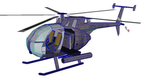 Papercraft Helicopter - boeing ah 6 helicopter po archives
