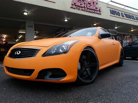Infinity Auto Tint Houston by Orange G37 Houston Car Stereo Hight Tech Auto